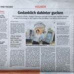 Fenster &Türen Zeitungs-Arikel